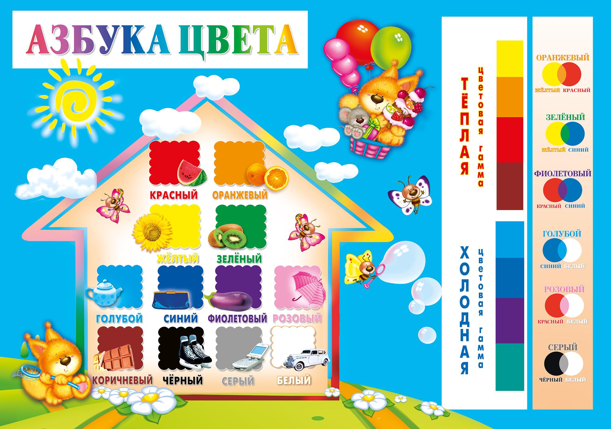 Как сделать баннер детского сада